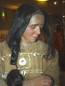 Cro-Magnon-Frau Oberkassel